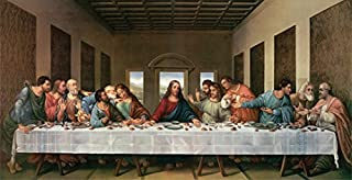 THE LAST SUPPER POSTER Michelangelo RARE HOT NEW 18x36