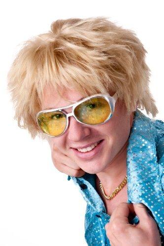 Boy beach blond perruque sexy kurzhaarperücke courte pour homme