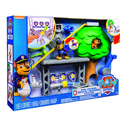 Paw Patrol Rescue Training Centre Figures - one Color, one Size