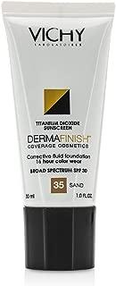 Vichy Dermafinish Corrective Fluid Foundation - Sand 35, 1 oz.