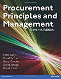 Procurement, Principles & Management by Peter Baily (21-May-2015) Paperback