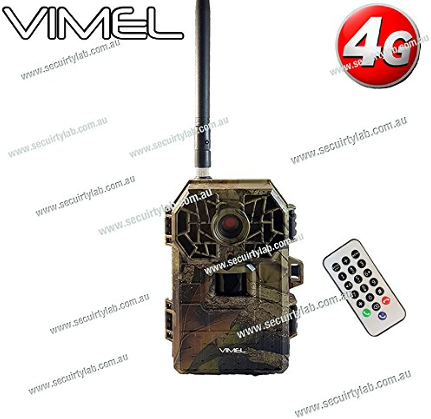 4G Trail Camera 3G Cam Outdoor Remote Controlled