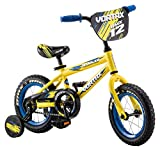 Pacific Cycle Vortax Kids Bike, 12-Inch Wheels, Yellow, Model: 124054P