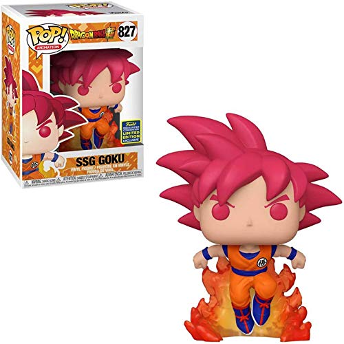 Gogowin Animación: DragonBall Super #827 SSG Goku Chibi figura