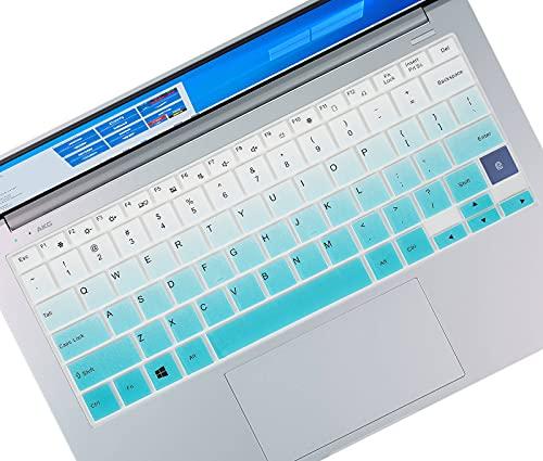 Keyboard Cover Skin for 13.3' Samsung Galaxy Book Flex Alpha 2-in-1 Touchscreen Laptop, Samsung Galaxy Book Flex 13.3 NP930QCG-K01US, Samsung Galaxy Book Ion 13.3 NP930XCJ-K01US/K02US-Gradual Mint