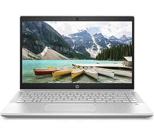 HP 14-CE0525SA 14' Laptop   Intel Pentium 4417U 2.3GHz 4GB/128 SSD   Win 10 S - Silver
