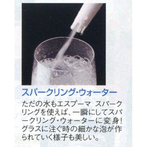 日本炭酸瓦斯『ESPUMASPARKLING(エスプーマスパークリング)』