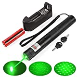 7. Green Light Flashlight Adjustable Focus with Visible Torch Lightfor Camping Hiking Hunting Fishing