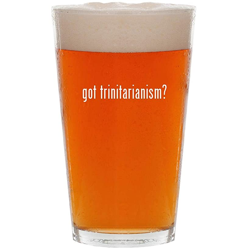 got trinitarianism? - 16oz All Purpose Pint Beer Glass
