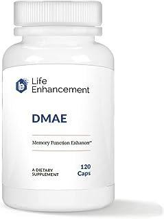 Life Enhancement DMAE | for Enhancing Memory Function | 125 mg DMAE (dimethylaminoethanol Bitartrate) | 120 Servings