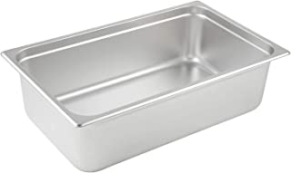 Winco SPJL-106 Anti-Jamming Steam Pan, Full-Size x 6-Inch
