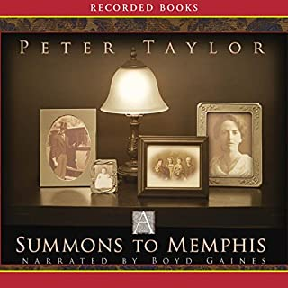 A Summons to Memphis audiobook cover art