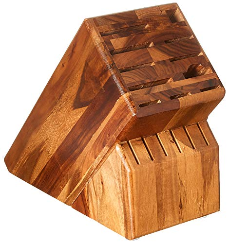 WUSTHOF Block Knife Storage, One Size, Acacia