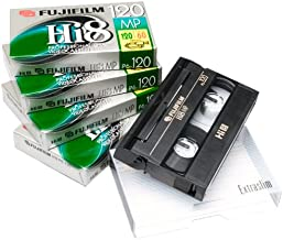 Fujifilm Hi-8 P6-120 Videocassette (5-Pack)