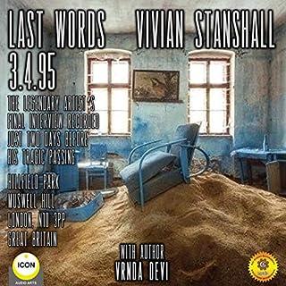 Last Words - Vivain Stanshall 3.4.95 Titelbild