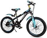 BANANAJOY Niños bicicletas for niños pedal recorrido al aire libre de la bicicleta camino de la bicicleta estudiante a la escuela de bicicletas masculino niña 10/07/15 años de bicicletas de montaña 18