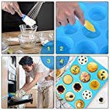 Zoom IMG-1 ninonly stampo muffin silicone teglie