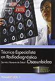 Técnico Especialista en Radiodiagnóstico. Servicio Navarro de Salud-Osasunbidea. Temario Vol. I. (Osasunbidea 2015)