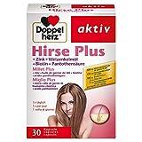Doppelherz Millet Plus – Complément alimentaire contenant de la biotine et du zinc contribuant au maintien de cheveux normaux – 30 gélules