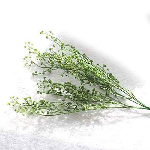 Guodinaba Artificial Leaf Horseshoe Bunch Simulation Leaves Wedding Party Home Decoration - Crafts Decoration Tropical Flower Roses Large String Leaves Hanging Fern Wedding Wall