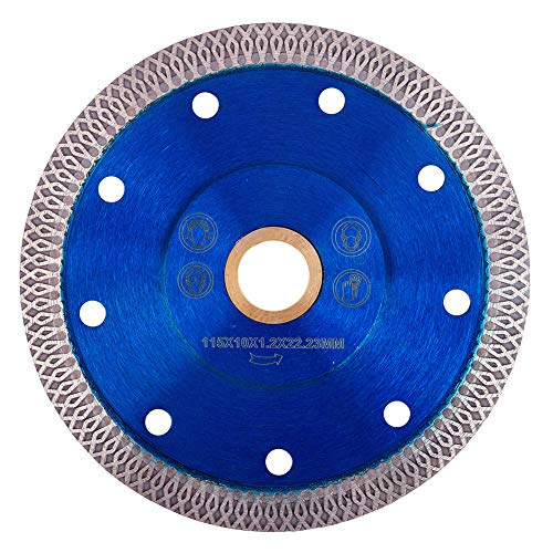GoYonder 4.5 Inch Super Thin Diamond Saw Blade for Cutting Porcelain Tiles,Granite Marble Ceramics (4.5')