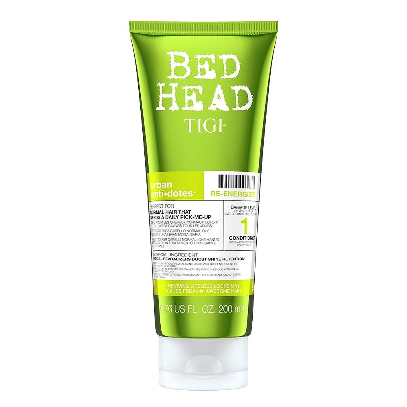 ポテト差し迫った衛星Tigi Bed Head Re-Energize Conditioner 200 ml (並行輸入品)