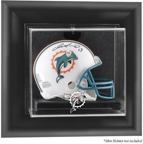 Miami Dolphins Virginia Beach Mall Wall-Mounted Mini Helmet Football - Case Display Long Beach Mall