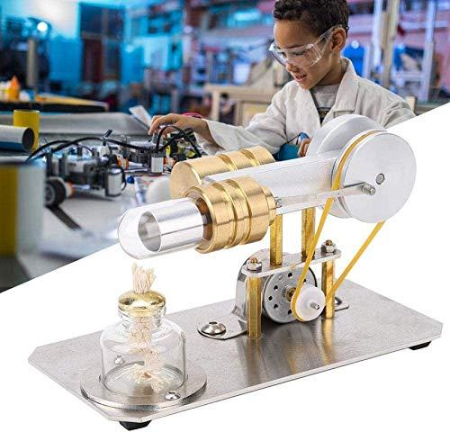 OKMIJN Kits De Motor Stirling, Divertido Modelo De Generador De Energía, Cilindro De Latón, Equipo De Laboratorio Físico, Kit De Herramientas Educativas, Regalos para Niños Y Adultos