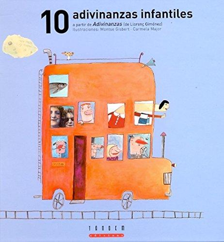10 adivinanzas infantiles a partir de Adivinanzas (de Llorenç Giménez) (El triciclo)