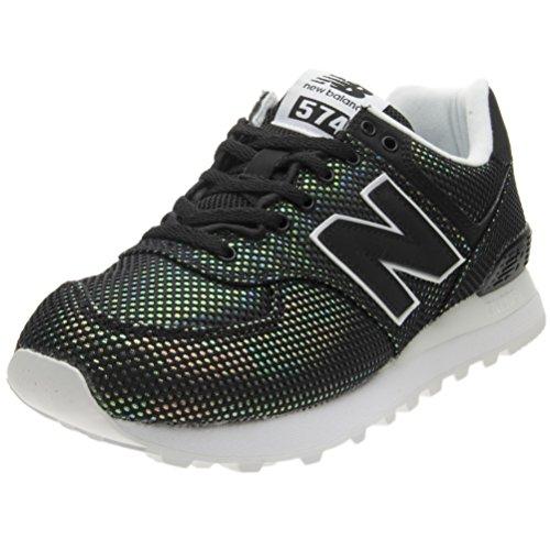 New Balance 574v2, Zapatillas Mujer, Negro (Black 001), 43 EU