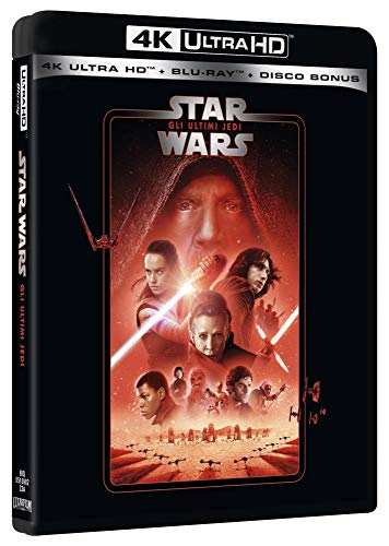 Star Wars - Episodio VIII - Gli Ultimi Jedi (Blu-Ray 4K Ultra HD+2 Blu-Ray) [Italia] [Blu-ray]