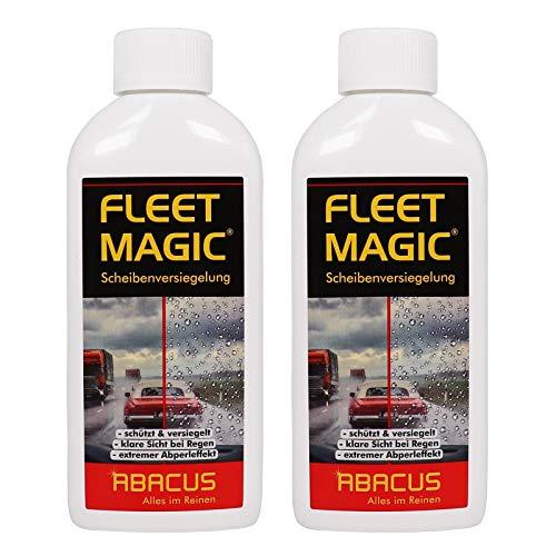 ABACUS 2X 250 ml Fleet Magic Scheibenversiegelung mit Abperleffekt (7101)