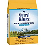 Natural Balance L.I.D. Limited Ingredient Diets Dry Dog Food for Puppies, Potato & Duck Formula, 12 Pounds, Grain Free