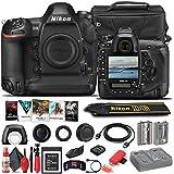 Nikon D6 DSLR Camera (Body Only) (1624) + 120GB XQD Card + EN-EL18C Battery + Case + Corel Photo Software + HDMI Cable + Cleaning Set + Flex Tripod + Memory Wallet (International Model) (Renewed)