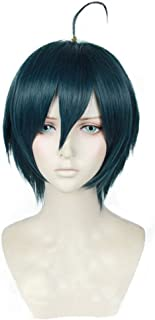 magic acgn Short Anime Cosplay Wig Straight Christmas Wig