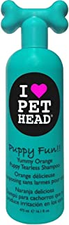 Pet Head Puppy Fun Puppy Tearless Shampoo - Yummy Orange