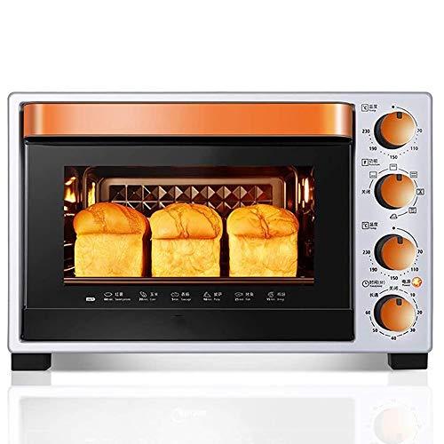 YHLZ 多機能電気キッチンオーブン、デスクトップミニオーブン、エナメルライナー、安全で簡単なクリーン、独立温度コントロール