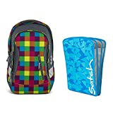 satch Sleek Beach Leach 2-teiliges Set Rucksack & Triple Flex blau