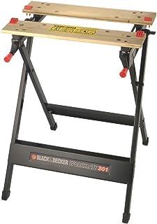 Black + Decker 809351 WM301-XJ Workmate, Zwart