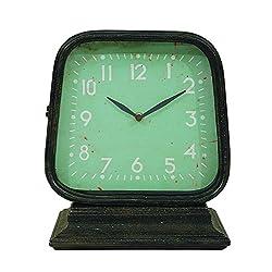 Creative Co-Op DA4380 Black Metal Clock