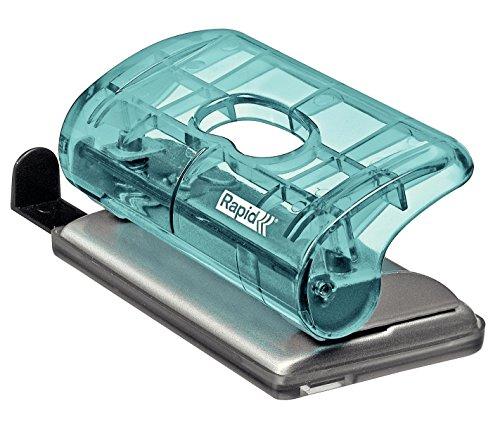 Rapid Mini Perforateur, Capacité 10 feuilles, Bleu, FC5, Colour'Ice, 5001332