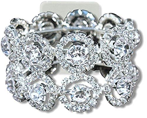 Fitz Design Corsage Bracelet - Lucky Flower Bracelet - Dazzle