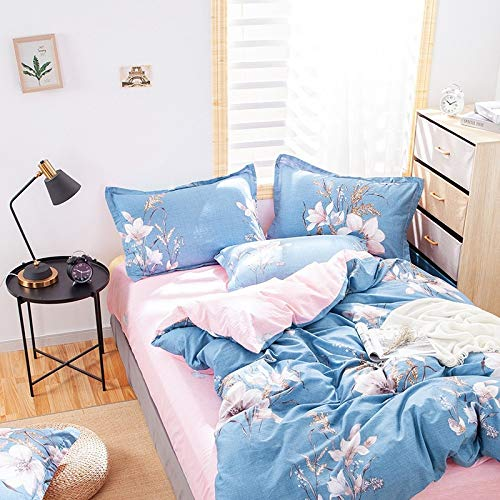 Bedding Cotton Four-Piece Suit Super Soft Household Bed Sheet Quilt Cover Bedding Four-Piece Suit