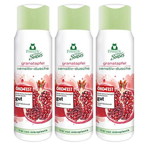Frosch Senses granatapfel sensitiv-dusche 300ml - Duschgel (3er Pack)