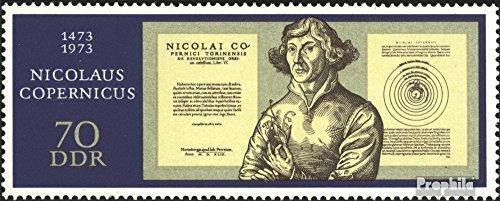 Prophila Collection DDR 1828 (kompl.Ausgabe) 1973 Kopernikus (Briefmarken für Sammler) Weltraum