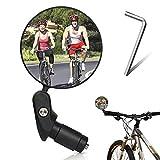 SUNSK Espejo Retrovisor de Bicicleta 360° Adjustable Espejos de Bicicleta Manillar Espejo Retrovisor Bicicleta para Mountain Road Bike,Bicicletas de montaña, Motocicletas