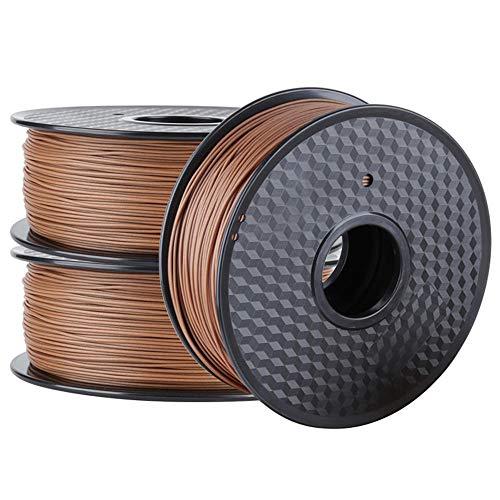 3d Printer PLA Filament 1.75mm, Add Natural Wood Powder, Embrace Nature-WOOD 3KG