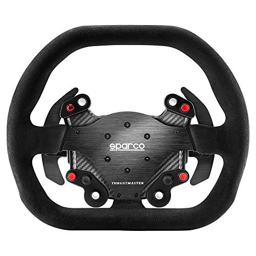 Thrustmaster TM Competition Wheel AddOn Sparco P310 Mod (Lenkrad AddOn, 31 cm, Veloursleder, PS4 / PS3 / Xbox One / PC)