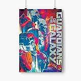 Poster Penjaga 16x24 Inci Tanpa Bingkai, Film Guardians of the galaxy, Seni film, Poster dinding, Cetak film, Seni Dinding Kanvas, Seni Marvel, Hadiah untuk putra, putri, penggemar, sahabat, anak laki-laki, perempuan