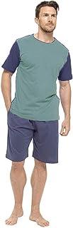 Tom Franks Mens Cotton Jersey T-Shirt & Shorts Pyjama Lounge Set